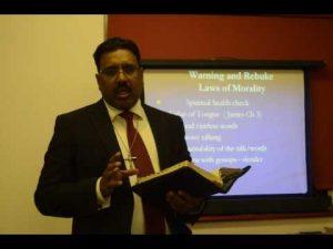 Bible Study (Part 2) by Rev.Noble Samuel..The Bible TV