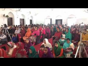 Preaching the word of God during the Mission Trip to Sialkot Pakistan